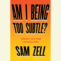 Am I Being Too Subtle? Cover