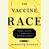 The Vaccine Race Cover
