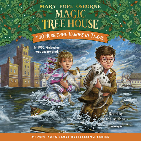 Hurricane Heroes in Texas by Mary Pope Osborne