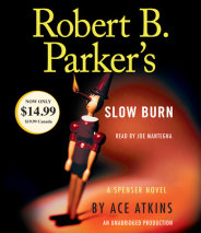 Robert B. Parker's Slow Burn Cover