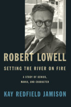 Robert Lowell, Setting the River on Fire Cover