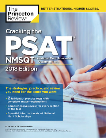 Cracking The PSAT NMSQT With 2 Practice Tests 2018 Edition By Princeton Review