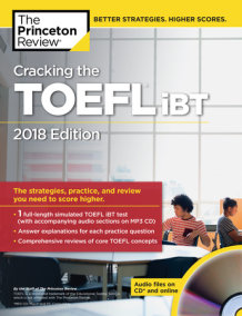 Cracking the TOEFL iBT with Audio CD, 2018 Edition
