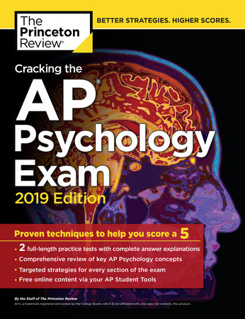 Cracking the AP Psychology Exam, 2019 Edition by Princeton Review