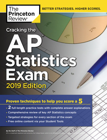 Cracking the AP Statistics Exam, 2019 Edition by Princeton Review