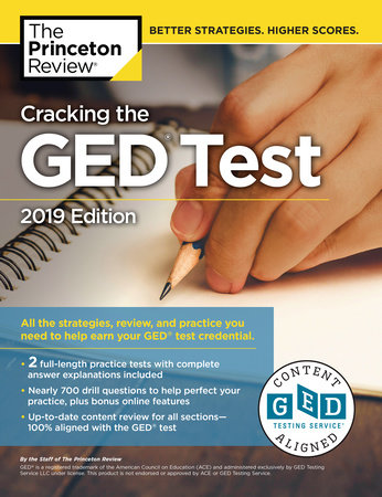 Cracking the GED Test with 2 Practice Exams, 2019 Edition by Princeton Review