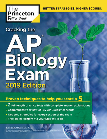 Cracking the AP Biology Exam, 2019 Edition by Princeton Review