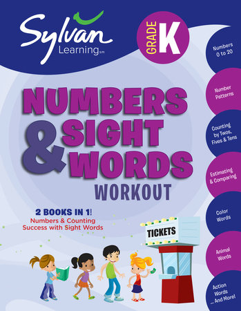 Kindergarten Numbers & Sight Words Workout by Sylvan Learning