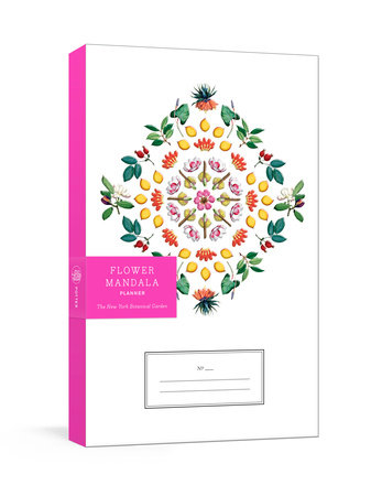 Flower Mandala Planner by The New York Botanical Garden