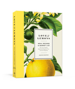 Love and Lemons Meal Record and Market List