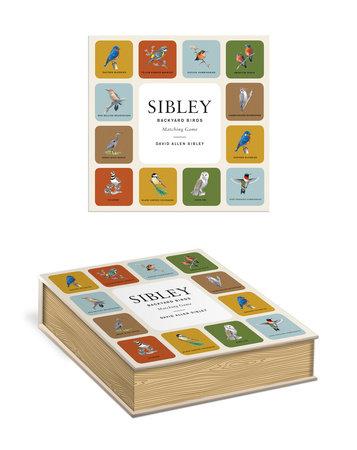 Sibley Backyard Birds Matching Game by David Allen Sibley