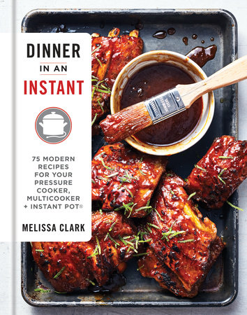 The cover of the book Dinner in an Instant