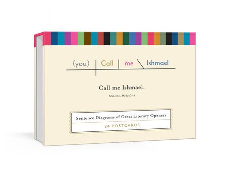 The cover of the book Call Me Ishmael Postcards