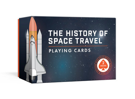 The History of Space Travel Playing Cards by Pop Chart Lab