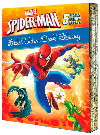 Spider-Man Little Golden Book Library (Marvel)