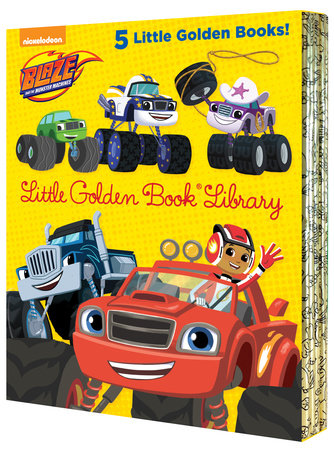 Blaze and the Monster Machines Little Golden Book Library (Blaze and the MonsterMachines)
