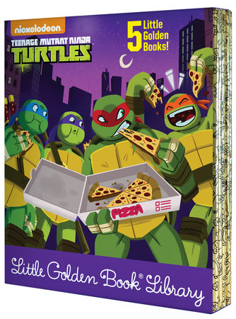 Teenage Mutant Ninja Turtles Little Golden Book Library (Teenage Mutant NinjaTurtles)