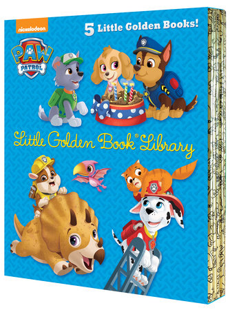 PAW Patrol Little Golden Book Library (PAW Patrol)