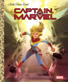 Captain Marvel Little Golden Book (Marvel)