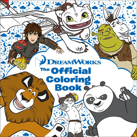 DreamWorks The Official Coloring Book By Random House
