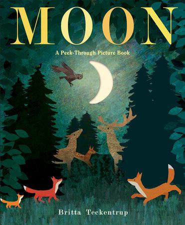 Moon: A Peek-Through Picture Book by Britta Teckentrup