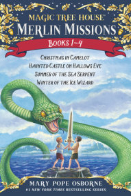 Magic Tree House Merlin Missions 1-4