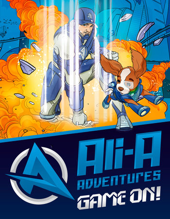 Ali-A Adventures: Game On! The Graphic Novel by Ali-A and Cavan Scott