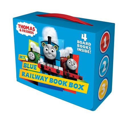 My Blue Railway Book Box (Thomas & Friends)