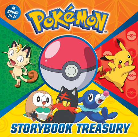 pokémon storybook treasury pokémon by random house