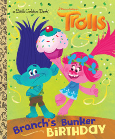 Branch's Bunker Birthday! (DreamWorks Trolls)