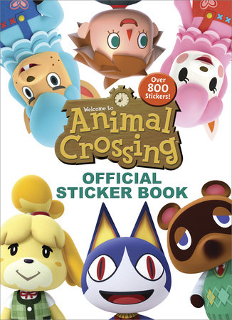 Animal Crossing Official Sticker Book (Nintendo) by Courtney Carbone