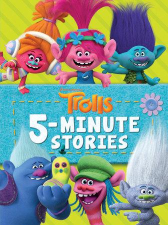trolls 5 minute stories dreamworks trolls by random house