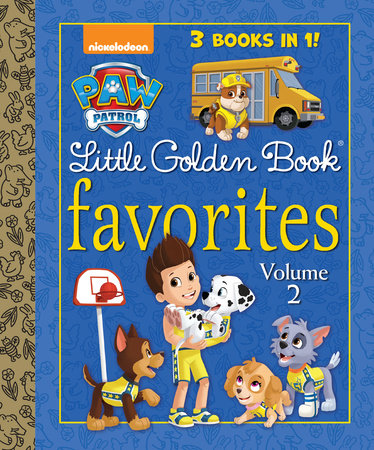 PAW Patrol Little Golden Book Favorites, Volume 2 (PAW Patrol)