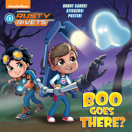 Boo Goes There? (Rusty Rivets) by David Lewman