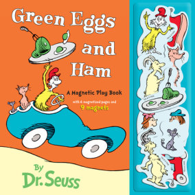 Green Eggs And Ham A Magnetic Play Book