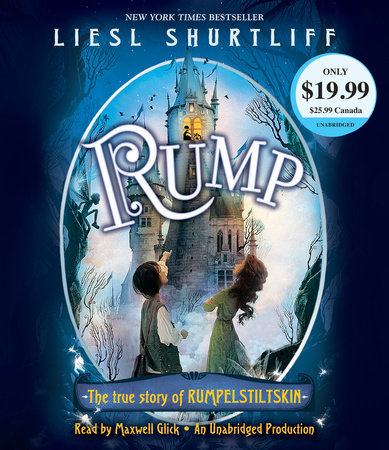 Rump: The True Story of Rumpelstiltskin cover
