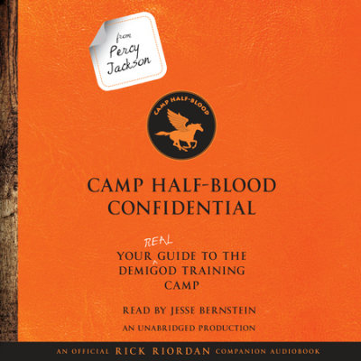 From Percy Jackson: Camp Half-Blood Confidential cover