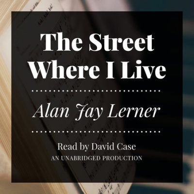 The Street Where I Live cover