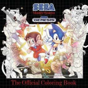 SEGA: The Official Coloring Book