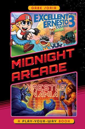 Excellent Ernesto Cousins 3/Wrestlevania Book Cover Picture