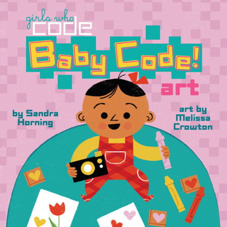 Baby Code! Art by Sandra Horning