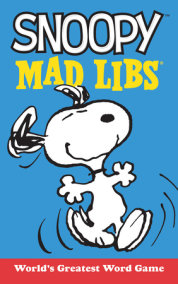 Snoopy Mad Libs