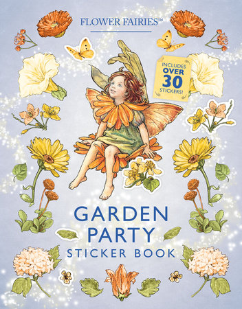 Garden Party Sticker Book