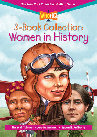 Who HQ 3-Book Collection: Women in History by Who HQ