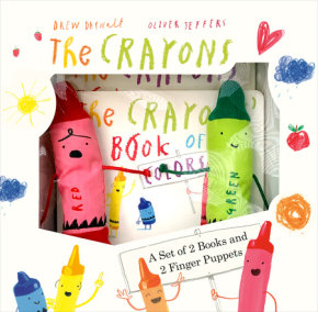 The Crayons: A Set of Books and Finger Puppets