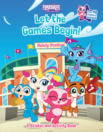 Fingerlings: Let the Games Begin! A Sticker and Activity Book