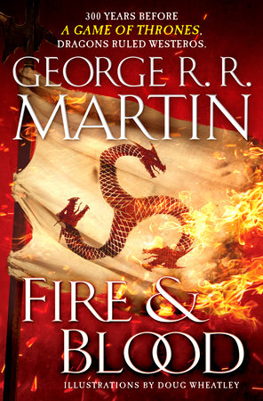 The cover of the book Fire & Blood