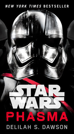 The cover of the book Phasma (Star Wars)