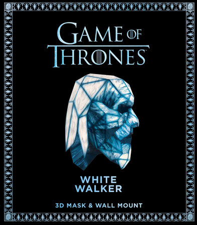 Game of Thrones Mask: White Walker (3D Mask & Wall Mount) by Wintercroft
