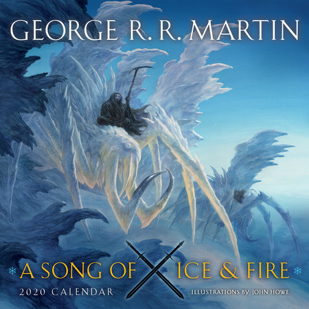 A Song of Ice and Fire 2020 Calendar by George R. R. Martin
